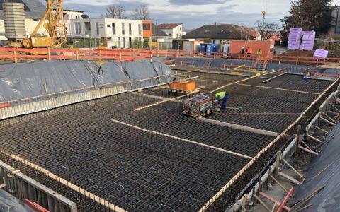 Der Bau unseres neuen Medizinischen Versorgungszentrums schreitet voran!