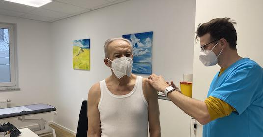 Update Corona-Impfungen und Personalverstärkung