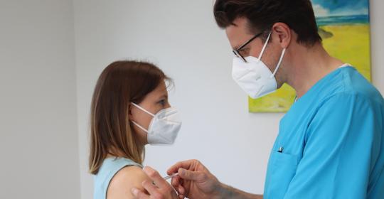 Online-Terminvereinbarung und Impfungen